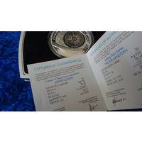 """Крузенштерн"" , серебро , 20 рублей . 2011 год."