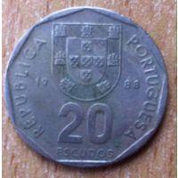 20 эскудо 1988 Португалия