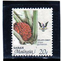 Малайзия. Сабах. Ми-50. Сельскохозяйственные продукты - Elaeis guineensis.1986.