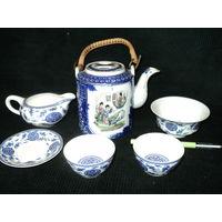 Набор для чайной церемонии, старый Китай