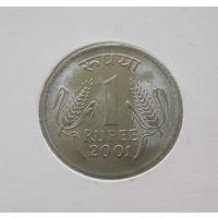 Индия 1 рупия 2001 Бомбей - UNC!