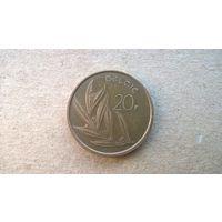 Бельгия 20 франков, 1981г.'BELGIE' (sb-1)