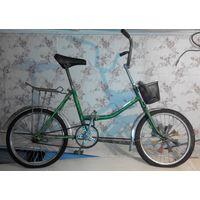 """Велосипед ретро """"Аист"""" (Десна 2), складной"""