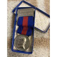 Бельгийская медаль пожарного (1950-60 годы)