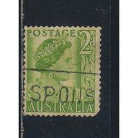GB Австралия 1950 Королева Елизавета Стандарт #205