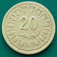 20 миллимов 1983 ТУНИС