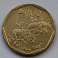 Индонезия 100 рупий, 1995 г.