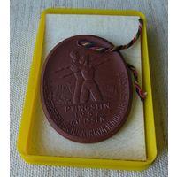 Медаль Мейсона, фарфор, 1957