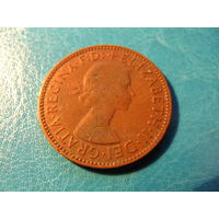 1/2 пенни 1959 Британия KM# 896 бронза 515