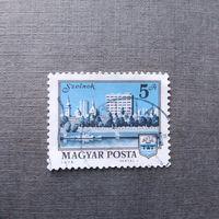 Марка Венгрия 1975 год Архитектура