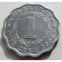 БЕЛИЗ,1цент2002г,2007г.