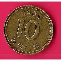 40-12 Южная Корея, 10 вон 1999 г.