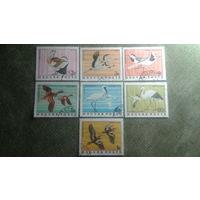 Марки Венгрии 1977 птицы