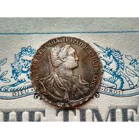 Монета РИ, 1 рубль 1766.