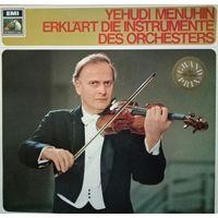 Y. MENUHIN 1972, Germany, LP, EX