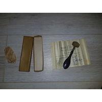 Стеклорез алмазный, 1968г., 0.04 карат, состояние как новое. Оригинальная коробка и паспорт.
