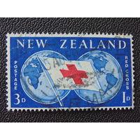 Новая Зеландия. Красный крест.