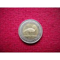 Уганда 1000 шиллингов 2012 г. 50 лет независимости.