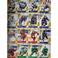 Хоккейные карточки КХЛ, 11 сезон, разное