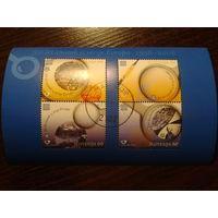 Словения 2005г. 50 лет маркам Европа блок