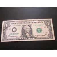 1 доллар США 1999 г., L 37402929 F, XF