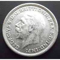 Британия. 3 пенса 1931 Серебро.