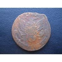 5 копеек 1780 ЕМ С 1 рубля.