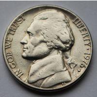 США, 5 центов 1976 г. D