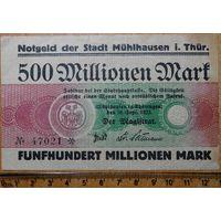 500 миллионов марок 1923г. Туринген