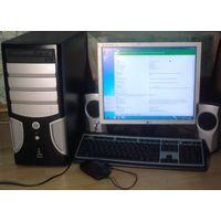 Системный блок + Монитор + колонки +  клавиатура + мыш  (полный комплект)