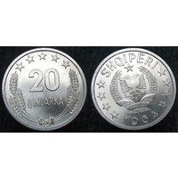 W: Албания 20 киндарка 1964 в блеске (890)