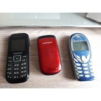 Мобильный кнопочный телефон Samsung, Siemens