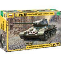 ЗВЕЗДА 3687 - Советский средний танк 1944г Т-34/85 / Сборная модель 1:35