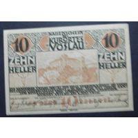 Нотгельд. 10 геллеров #37