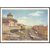 СССР ДМПК 1956 Москва ул.Моховая