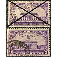 ЦІКАВІЦЬ АБМЕН! 1938, IOWA, 3 цэнта