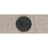 Германия 10 пфеннигов 1920(Ab)