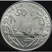 Фр. Полинезия 50 франков 1975 БОЛЬШАЯ