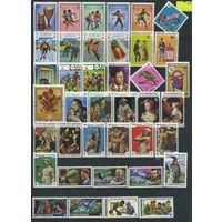 Сток коллекция **Мальдивы** 117 марок