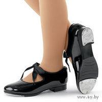 Туфельки лакированные для танцев, по стельке 16 см