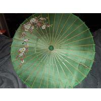 Китайский зонт от солнца 1950-х годов