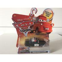 Машинка Байки Мэтра Полицейский Disney Pixar Cars Rescue Squad Trooper Cars Toon Sizzlin Paint Job