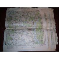 Карты генштаб километровки 40шт