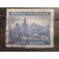 Богемия и Моравия 1939 Прага 10 крон