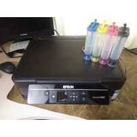 МФУ Epson Stylus SX230 c СНПЧ дисплеем, USB и картридером