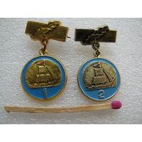 Знак. Юный моряк СССР (1 и 2 разряды)