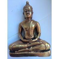 Старинная статуэтка Будда 17 см бронза