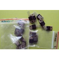 Диод ультрабыстрый MUR1610 (Сдвоенный с ОК; 2x8A; 100V; 35 nS), U1620 (Сдвоенный с ОК; 2x8A; 200V; 35 nS)