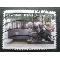 Финляндия 1999 памятник политику