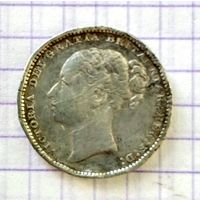 One shilling 1883г. Великобритания.